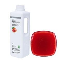 [냉장]프룻스타 레드자몽 베이스 1kg_(1154112)