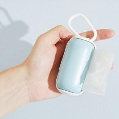 반려동물 휴대용 배변봉투리필 포터블 봉지롤케이스