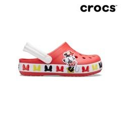 [크록스] 키즈 디즈니 미니마우스 밴드 클로그 206308-8C1