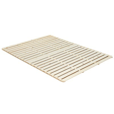 더릭스홈 코지 레이어 LED 저상형 침대프레임 삼나무 원목깔판