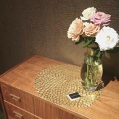 디아르 다알리아 식탁 테이블매트 방수 티테이블매트