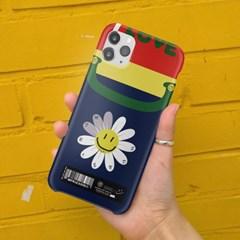 case_492_I LOVE U M flower