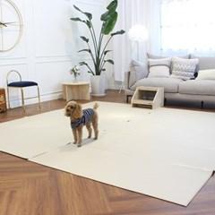 베이메이트 리빙펫 강아지매트 모카베이지 거실매트 최대3M