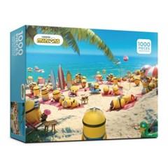 (알록퍼즐)1000피스 미니언즈 여름 휴가 직소퍼즐 AL330_(1704417)