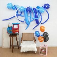 생일 요술 풍선 가랜드 장식 DIY 4color 시즌2 생일파티 홈파티 용품