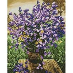 비밀의 정원 (캔버스형) 보석십자수 40x50