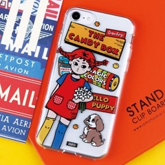 [젤리케이스 오렌지소녀]아이폰8 하드케이스 갤럭시케이스 s20FE