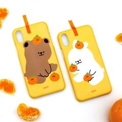 [하드케이스 귤순이귤돌이]아이폰8 하드케이스 갤럭시케이스 s20FE