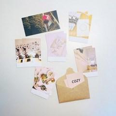 감성 미니 엽서 세트 02.아늑한