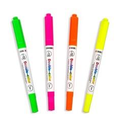 [블루마토] XL 더블 양쪽 형광펜 4색세트 (HLP005) 3세트