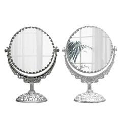 카페 예쁜 디자인 월계수 원형 360도 양면거울 소형