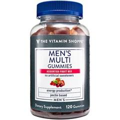 비타민샵 남성 멀티 종합비타민 영양제 과일 120젤리
