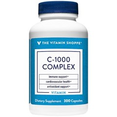 비타민샵 컴플렉스 비타민C 1000mg 비타민 P 300캡슐