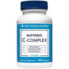 비타민샵 컴플렉스 비타민C 750mg 칼슘 루틴 100캡슐