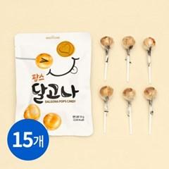 달고나 팝스 막대사탕 55g (6개입) x 15봉_(2121238)