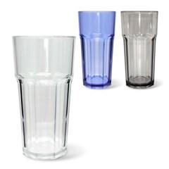 미르 PC컵 8각컵 420ml (14온스) 카페 음료 플라스틱 리유저블컵