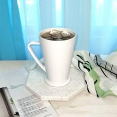미르 PC컵 머그컵 450ml (PC15MUG) 카페 커피잔 플라스틱 리유저블컵