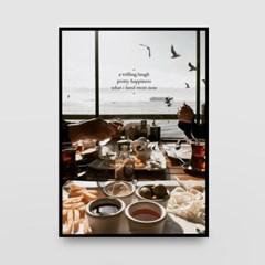 포토 포스터 / 인테리어 액자_travel, food, memory 01