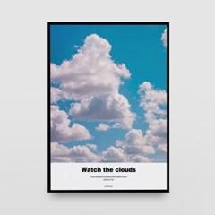 포토 포스터 / 인테리어 액자_clouds 01
