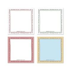 always memo pad (4color)