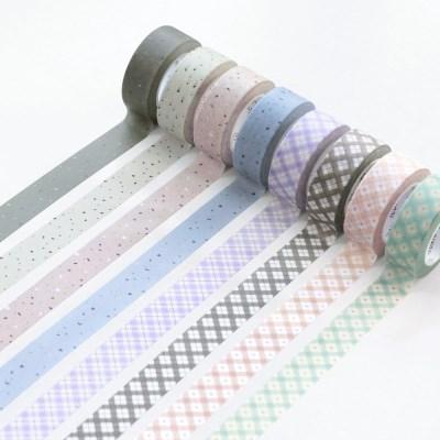 아이코닉 마스킹 테이프 패턴