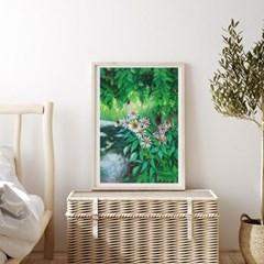 아미슈 싱그러운 그린 포레스트 Green Forest 아트포스터 400x600mm
