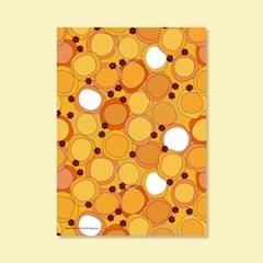 포스터 MANDARIN FLOWER, 50x70_(1596101)