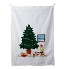[모던하우스] L 따뜻한 우리집 크리스마스 패널커튼 90X120