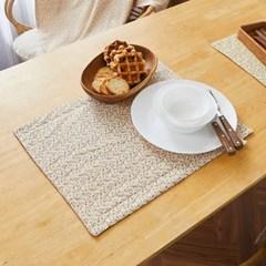 [모던하우스] L 한번 삶은 3겹 소창 살림덮개 겸용 식탁매트 분홍잔