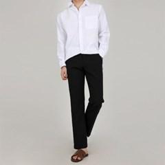 남자 린넨 여름 루즈핏 심플 베이직 긴팔 셔츠