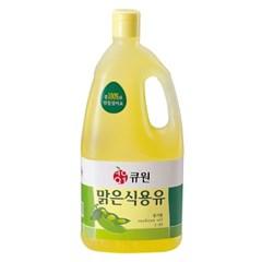 큐원 맑은식용유 1.8L_(2122557)