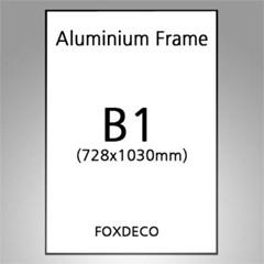 B1 무광 알루미늄 액자 ( 8종류 컬러)