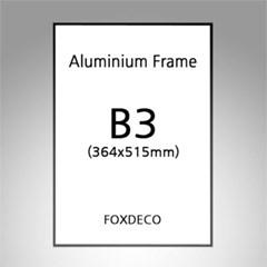 B3 무광 알루미늄 액자 ( 8종류 컬러)