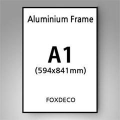 A1 무광 알루미늄 액자 ( 8종류 컬러)