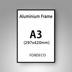 A3 무광 알루미늄 액자 ( 8종류 컬러)