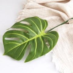 몬스테라 나뭇잎 조화
