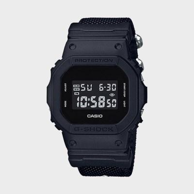 [G-SHOCK] 지샥 DW-5600BBN-1 남성 패브릭 손목시계