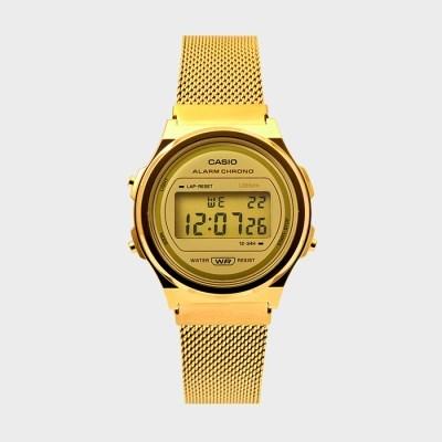 CASIO 카시오 A171WEMG-9A 공용 메탈 손목시계