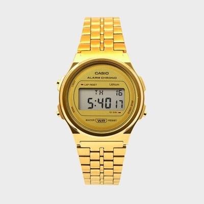 CASIO 카시오 A171WEG-9A 공용 메탈 손목시계