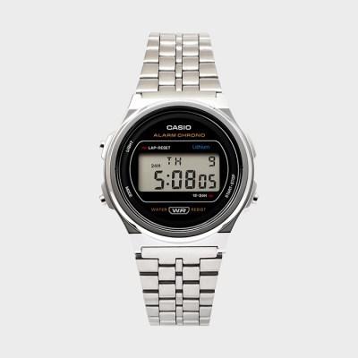 CASIO 카시오 A171WE-1A 공용 메탈 손목시계