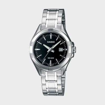 CASIO 카시오 LTP-1308D-1A 여성 메탈 손목시계