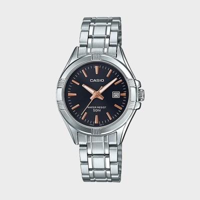 CASIO 카시오 LTP-1308D-1A2 여성 메탈 손목시계