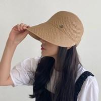 라탄여성 여름 햇빛차단 썬캡 벨크로 모자_(485855)