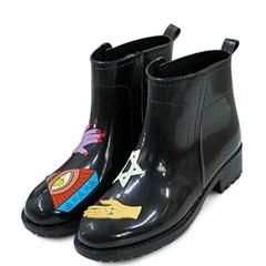 kami et muse Point top rain boots_KM21s281