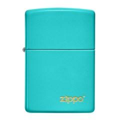 ZIPPO 라이터 49454ZL Classic Flat Turquoise Zippo Lo_(2785566)