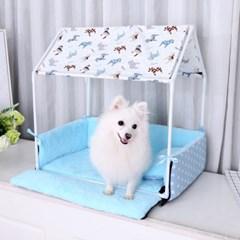 강아지 실내 침대 하우스
