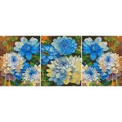 블루밍 (3단세트) (캔버스형) 보석십자수 40x50