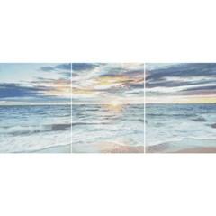 해 뜨는 바다 (3단세트) (캔버스형) 보석십자수 40x50