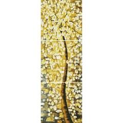 황금꽃나무 (3단세트) (캔버스형) 보석십자수 50x50