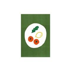 [찰리파파] 야채 꾸러미 엽서